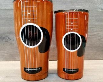 Acoustic Guitar Tumbler