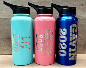 Personalized Engraved Water Bottle