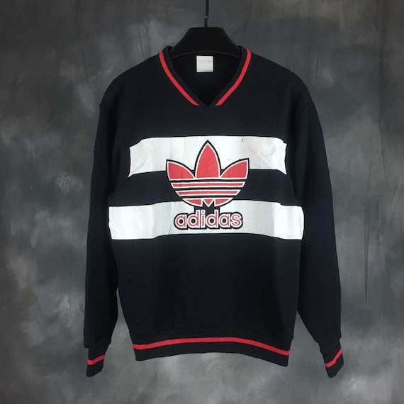 S Vintage Sweat Pull Gros 90 Années 80 Etsy Des Logo Adidas En nTWrFRqIW
