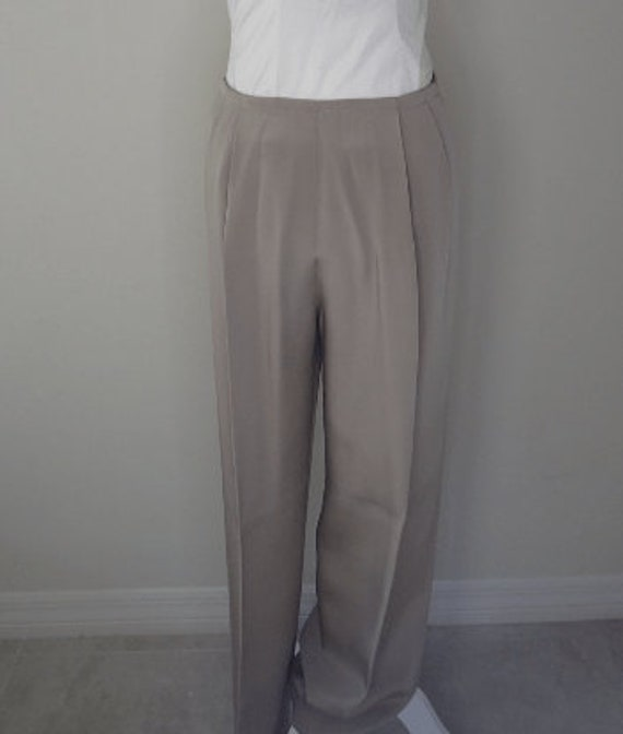 Vintage Silk Satin Trousers - image 1