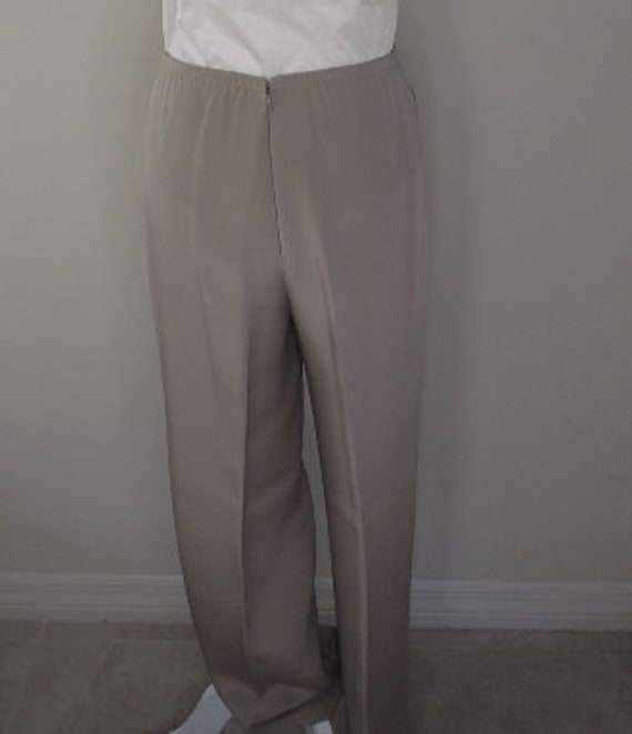 Vintage Silk Satin Trousers - image 2