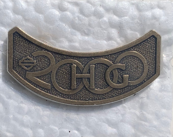 2000 Harley Davidson Owners Group Pin HOG Biker Motorcycles Eagle Outlaw Easy Rider Road King Sturgis SOA Fat Boy Sportster Hells Angels MC