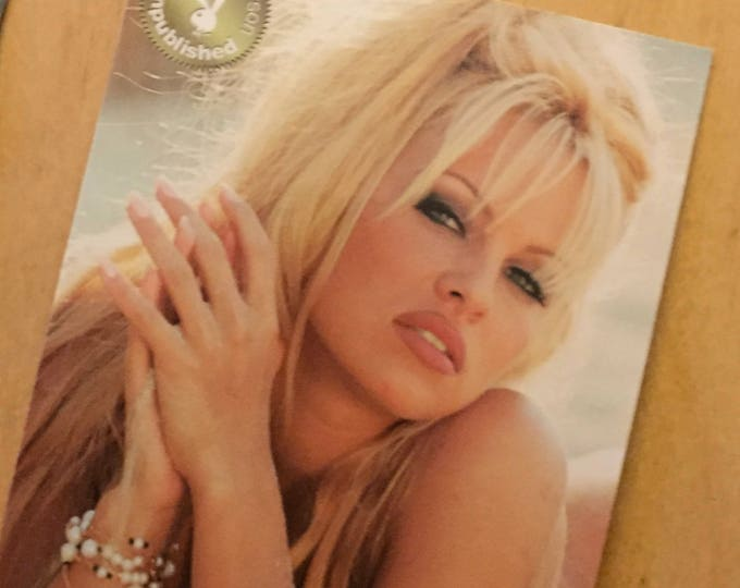 RARE Pamela Anderson Playboy Collector Cards - Pam Anderson Chase cards insert cards sex sexy baywatch boobs model blonde beach babe