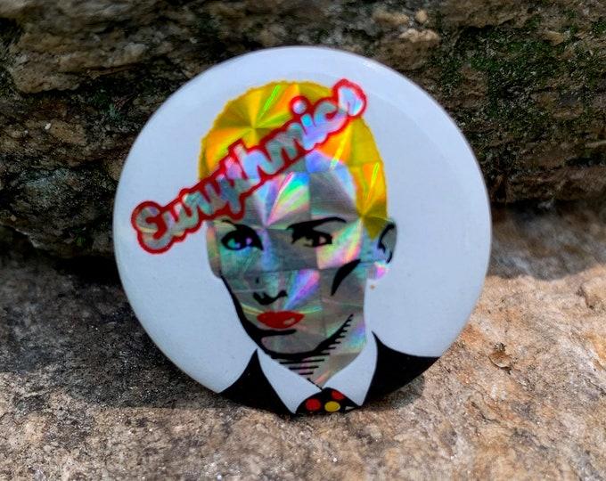 Annie Lennox Pin Badge Pinback Pins Eurythmics Dave Stewart Culture Club Lady Gaga Tears for Fears Duran Duran Kate Bush Tori Amos Dido