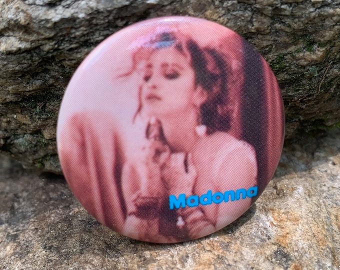 Vintage MADONNA Pin Badge Pinback Pins Culture Club Lady Gaga Tears for Fears Duran Duran Britney Spears Cher Mariah Carey George Michael