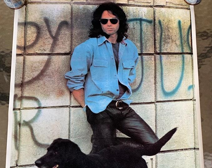 Vintage Rare Jim Morrison Poster Doors Poet Poetry Bob Dylan Pink Floyd Led Zeppelin Jimi Hendrix Janis Joplin The Rolling Stones Nirvana