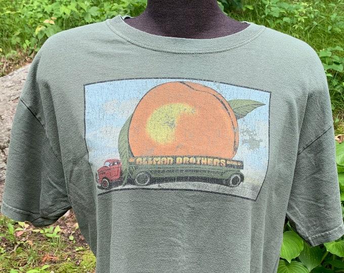 Eat A Peach Gregg Allman (L) The Allman Brothers Duane Allman Dicky Betts Butch Trucks Warren Haynes Southern Rock Cher Fillmore Band Shirt
