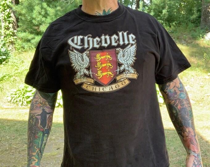 Chevelle Band Shirt (L) Metal Volbeat Breaking Benjamin Stone Sour Shinedown Staind Sevendust Seether Godsmack Papa Roach Deftones Tool