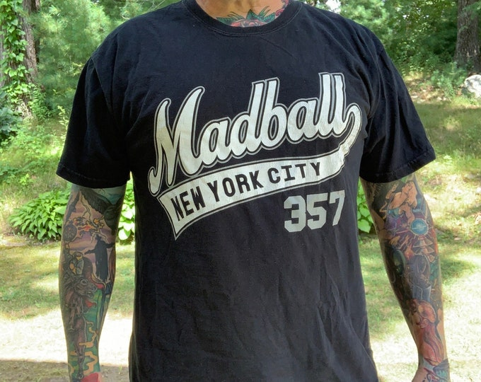 Madball Punk Rock  Hardcore (L) Band Shirt Punk SkatePunk Hardcore Youth Brigade NYHC Jerrys Kids Reagan Youth The Germs TSOL Agent Orange