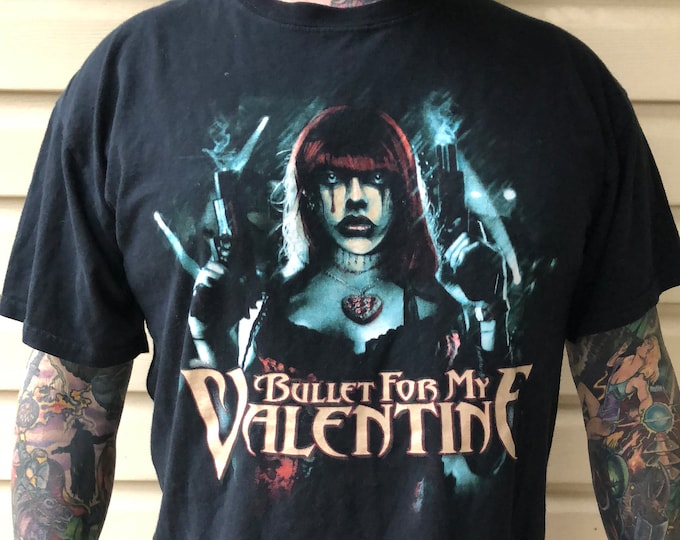 Bullet for my Valentine (L) hard rock Metal Heavy metal BFMV Matthew Tuck Michael Paget Band Shirt Band Tee Metalhead Slipknot The Poison