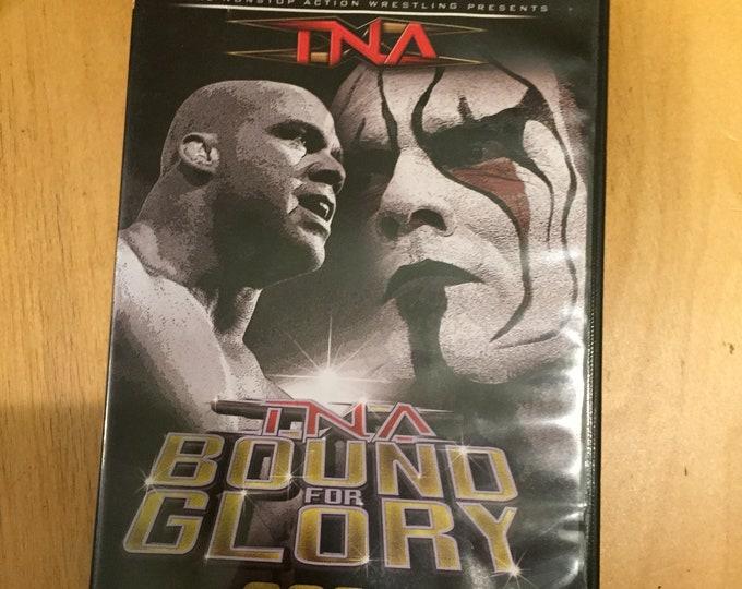 TNA Wrestling DVD  Bound for Glory Kurt Angle Samoa Joe AJ Styles Rick Steiner Big Poppa Pump Scott Steiner ppv Lucha