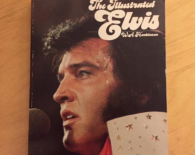 Vintage Elvis Presley Softcover Book - 1976 -  The Illustrated ELVIS Graceland Memphis Viva Las Vegas Jailhouse Rock Heartbreak Hotel Books