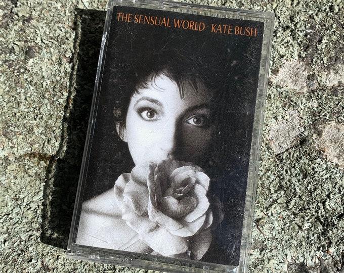 Vintage Kate Bush The Sensual World Cassette Tape David Gilmour Peter Gabriel Lindsay Kemp Gary Numan Bjork Tori Amos Mime Dance David Bowie