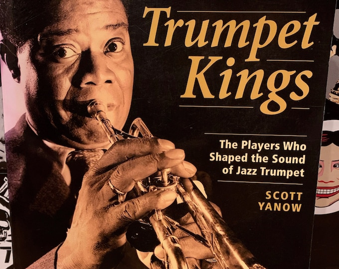 Trumpet Kings by Scott Yanow Softcover Book Jazz Miles Davis John Coltrane Charlie Parker Freddie Hubbard Chet Baker Duke Ellington Blues
