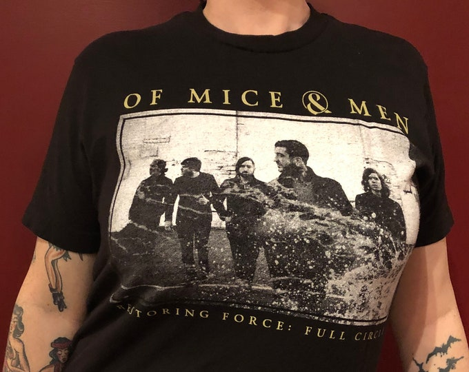 Of Mice and Men Band Shirt (Sz- MED) Metalcore Mastodon A Day To Remember BFMV FFDP Bring Me The Horizon Avenged Sevenfold Chelsea Grin