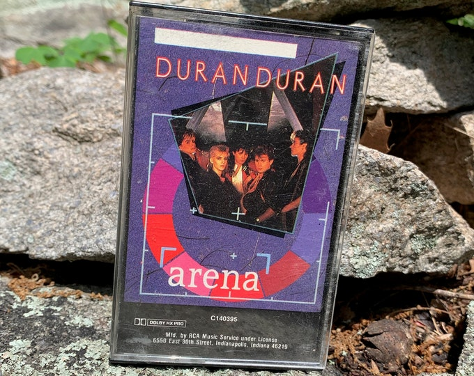 Vintage Duran Duran Arena Cassette Tape New Wave Talking Heads Devo Gary Numan B52s John Taylor Simon Le Bon Andy Taylor Nick Rhodes Bauhaus