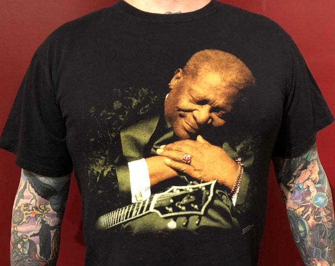 BB King 2011 Tour shirt band shirt Blues Guitar (XL) Muddy Waters John Lee Hooker Robert Johnson Elmore James Buddy Guy Stevie Ray Vaughan