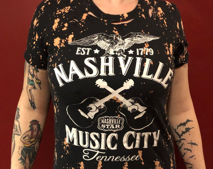 Country Music Band Shirt (S) CMA Nashville Tennessee Oak Ridge Boys Patsy Cline Conway Twitty Buck Owens Kitty Wells Charley Pride Ray Price