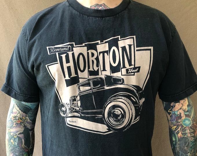 Reverend HORTON HEAT (Large) tshirt Band shirt Rockabilly psychobilly Jim Heath Jimbo Wallace Upright Bass Supersuckers  Nekromantix
