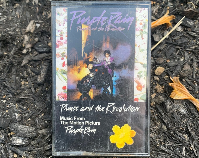 Prince & The Revolution Cassette Tape Britney Spears Cyndi Lauper Morris Day James Brown Stevie Wonder MTV Purple Rain INXS Rogers Nelson