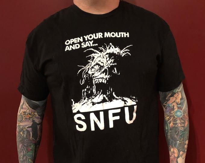 Punk Rock SNFU Band shirt (XL) Punk Chi Pig skate punk Pop punk hardcore YEG Edmonton Painful Reminder Youth Brigade doa Dayglo Abortions