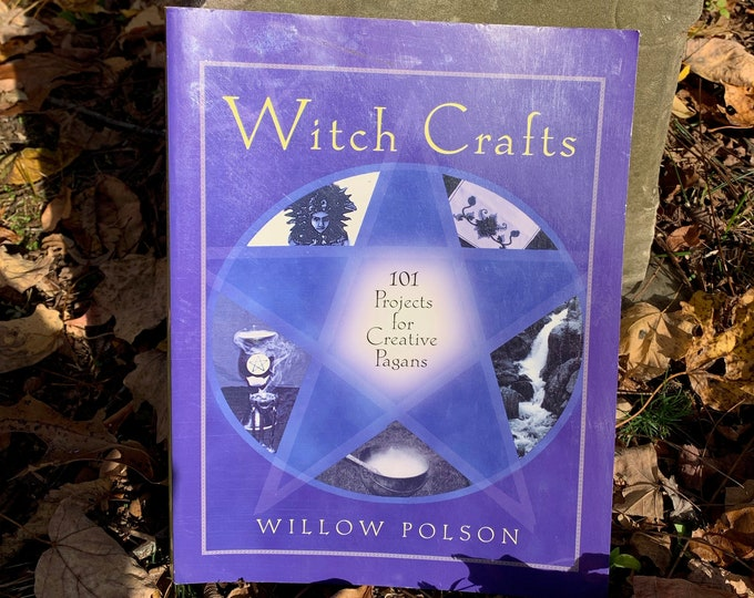 Witch Crafts Wicca and Witchcraft Witches Softcover Wiccan Witchy Coven Occult American Horror Story Tarot Ouija Gothgirl Spellbook Pagan