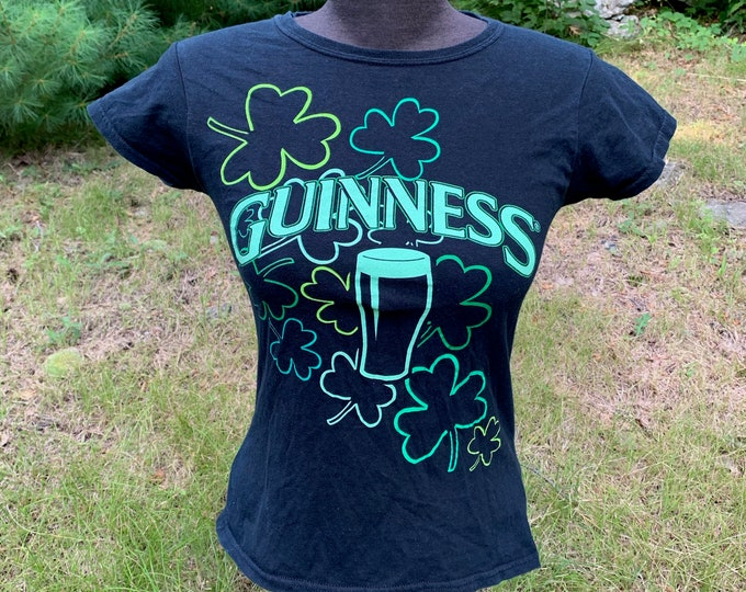 Guinness Beer TShirt (Ladies S) Harp Irish Ale Brew Pub Ireland Brewery Brewhouse Ireland Liquor Bartending Bartender Brewana Dos Equis