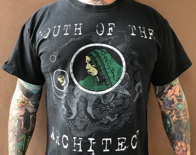 Mouth of the Architect Band shirt (L) Sludge Doom heavy metal Chris Common Band Teen Neurosis Isis Pelican Cult of Luna Time and Withering