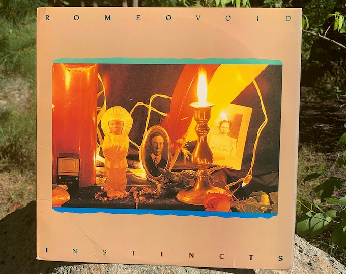 1984 Romeo Void Instincts VINYL LP Record Wall of Voodoo Missing Persons Terri Nunn Altered Images Lene Lovich Til Tuesday Bow Wow Wow Fixx