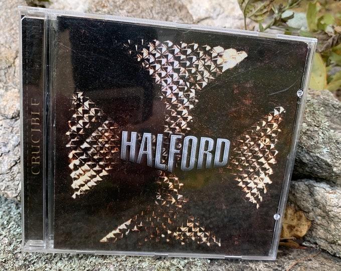 Rob Halford Crucible CD Judas Priest Bruce Dickinson Accept Motorhead Metalhead Saxon Metallica Rammstein Ronnie James Dio Queensryche Kiss