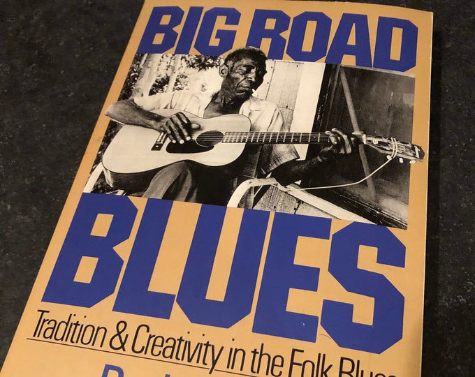 Vintage Big Road Blues Softcover Book 1982 Blues Robert Johnson Mott Willis Howlin Wolf Son House  Music Slim Harpo Muddy Waters Leadbelly