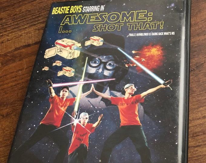 Beastie Boys DVD  I Shot That  Live at MSG Rap Hip Hop Sabotage Rick Rubin Adam Yauch Def Jam Sabotage Hello Nasty Licensed to Ill Boom Box