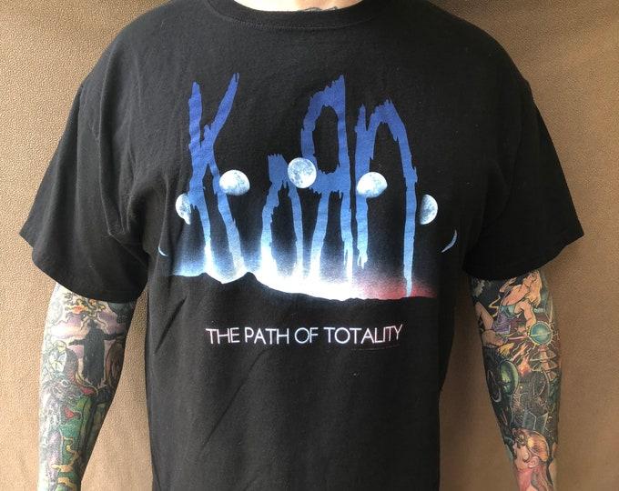 Korn Tour Shirt (XL) Band shirt Metal Industrial Nu Metal Rap Rock Jonathan Davis NIN Concert Metalhead Raprock Rapmetal RATM Papa Roach
