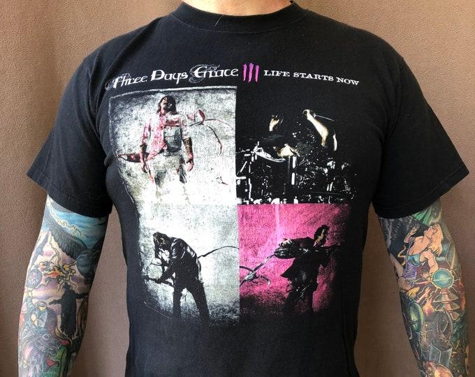 Three Days Grace - Alt Rock - Sz (MED) band shirt Adam Gontier Matt Walst Brad Walst Breaking Benjamin Seether Shinedown Linkin Park