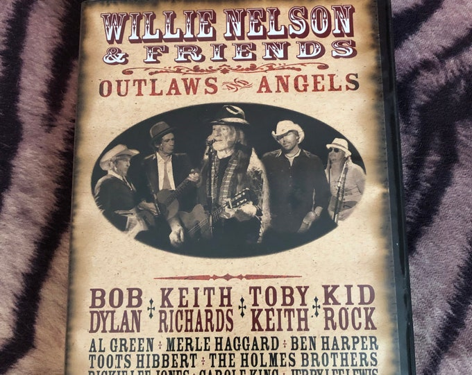 Willie Nelson and Friends DVD Bluegrass CMT Grand Ole Opry Walon Jennings Merle Haggard CMA Keith Richards Bob Dylan Kid Rock Toby Keith