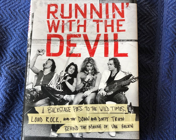 Van Halen 2017 Hardcover Book Eddie Van Halen David Lee Roth Sammy Hagar Michael Anthony Alex Van Halen Gene Simmons Motley Crue Skid Row