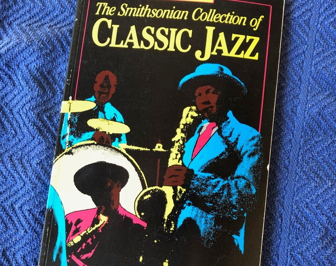 Vintage 1987 Softcover The Smithsonian Collection of Jazz Book Miles Davis John Coltrane Art Blakey Charles Mingus Lester Bowie WC Handy