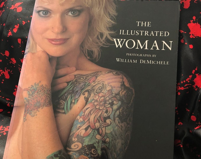 The Illustrated Woman 1992 Softcover Book Tattoos Tattooing Tattooed Tattoo Flash Tattoo Art Tattoo Artist Tattooer  Body Art Body Mods
