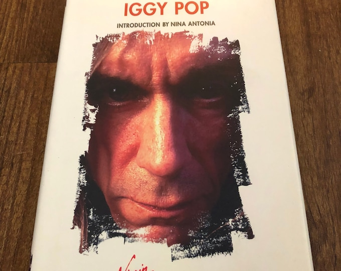 VINTAGE Iggy Pop the Stooges Virgin Modern Icons Ramones Joey Ramone MC5 Patti Smith nyc CroMags cbgb Richard Hell New York Dolls Dead Boys