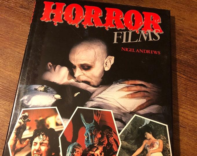 Vintage Horror Films Hardcover Book 1985 Horror Nosferatu Vampire Frankenstein The Mummy The Fly Boris Karloff Lon Chaney Bela Lugosi  Ghost