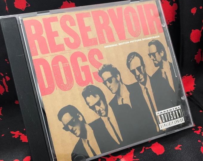 Reservoir Dogs Movie Soundtrack CD Quentin Tarantino Pulp Fiction Harvey Keitel Michael Madsen Joe Tex Blue Swede Stealers Wheel Grindhouse