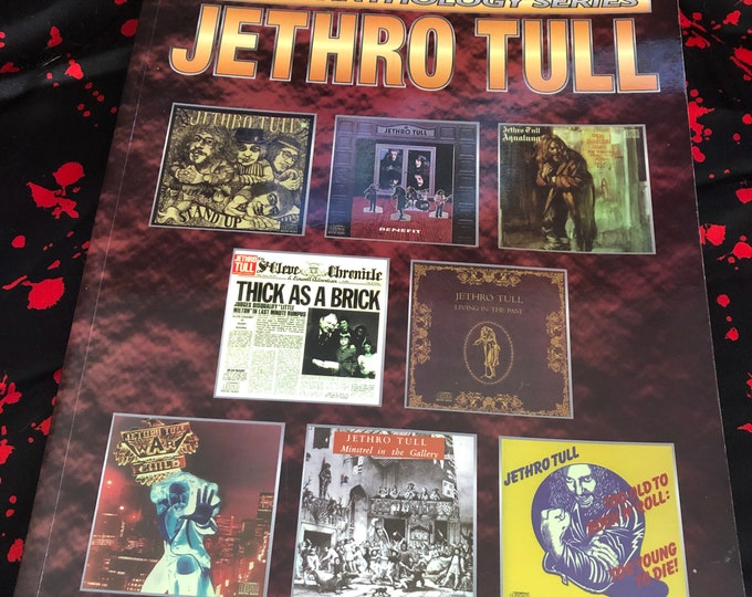 2001 Jethro Tull Anthology Guitar Tab Aqualung Ian Anderson King Crimson Uriah Heep Pink Floyd Genesis Yes Band Gentle Giant Guitar Lessons