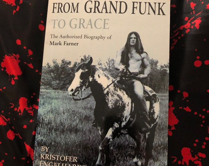 Mark Farner Autographed Grand Funk Railroad Softcover Book  2001  CD American Band Don Brewer Ten Years After Blue Oyster Cult Bad Company