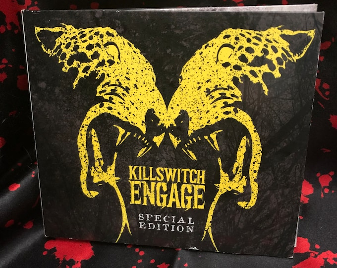 Killswitch Engage Special Edition CD DVD As I lay Dying Machine Head Lamb of God Devildriver Shadows Fall Unearth Chimaira Atreyu Trivium