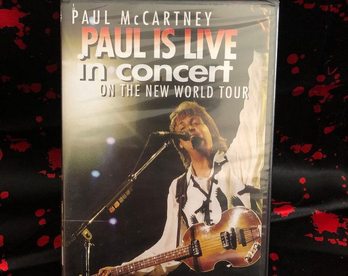 Paul McCartney Paul Is Live DVD The Beatles Abby Road Mick Jagger David Bowie Eric Clapton Bruce Springsteen WINGS Todd Rundgren Bob Dylan