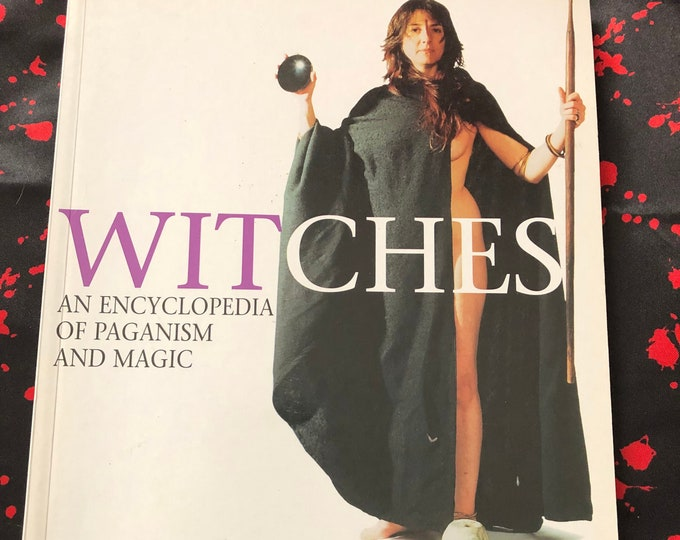 Witches 2000 Softcover Book Witch Occult Tarot Crystals Witchy Salem Goth Gothic Sorcerer Hex Pagan Halloween Witchcraft Paganism Coven