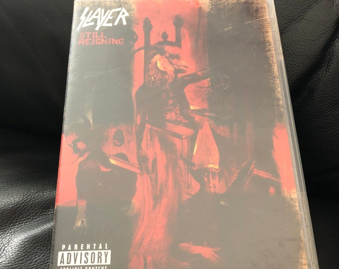 Slayer Still Reigning DVD Trivium Arch Enemy Shadows Fall Heavy Metal Thrash Metal Testament Slayer Exodus Death Metal Megadeth Kreator