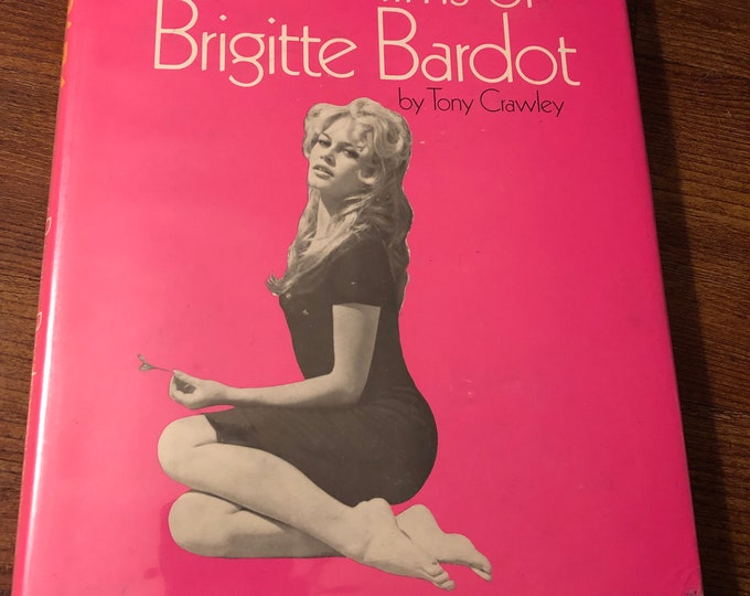 Vintage Bebe The Films of Brigitte Bardot Hardcover Book by Tony Cawley Marilyn Monroe Jayne Mansfield BettiePage Catherine Deneuve  Pinup