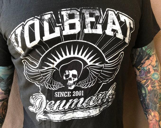 Volbeat Denmark Band Shirt Skull Danko Jones Avenged Sevenfold FFDP Anthrax Shinedown Gojira King Diamond Iron Maiden Godsmack Machine Head