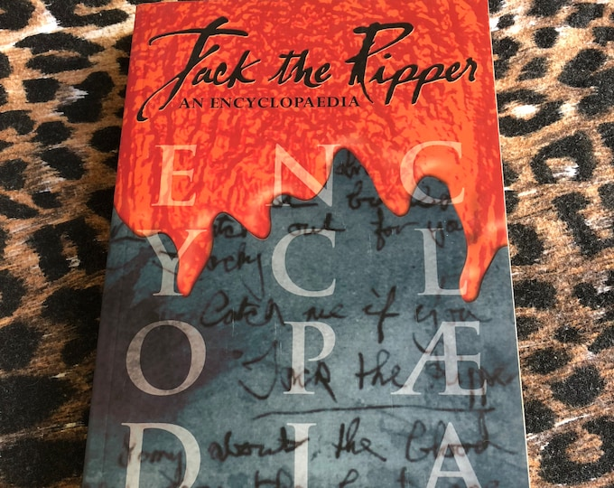 Jack the Ripper an Encyclopaedia Softcover Book gothic whitechapel serial killer murder Crime Mystery London Serial Killers Murder TrueCrime
